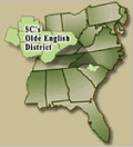 Map of the Olde English District