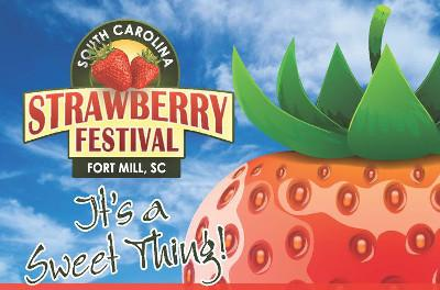 The South Carolina Strawberry Festival takes place each May in Fort Mill.