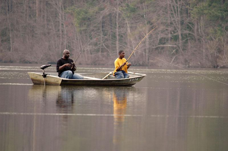 Fishing in Chester State Park