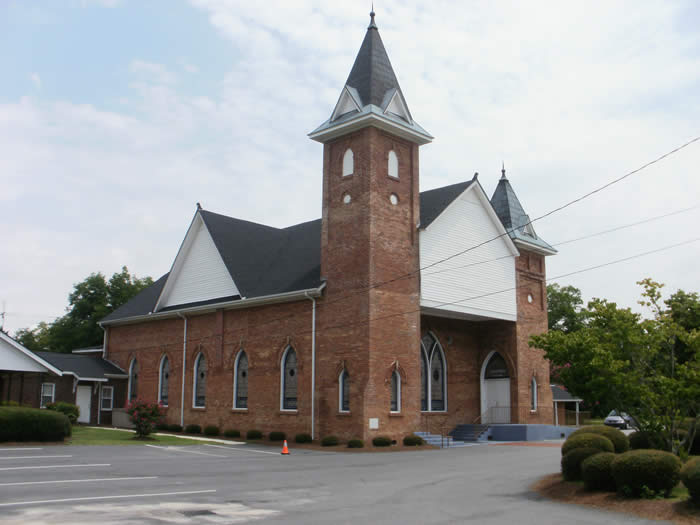 Historic Pee Dee Union Baptist Church in Cheraw