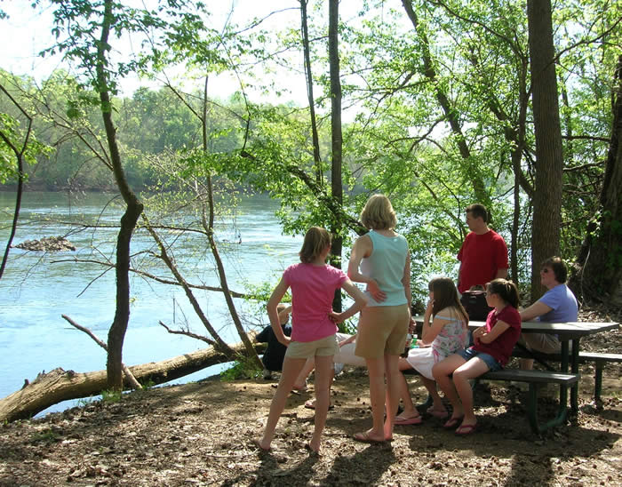 Enjoy a relaxing afternoon at Rock Hill's River Park